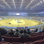 View of Turns 1 & 2 at the Gateway Dirt Nationals