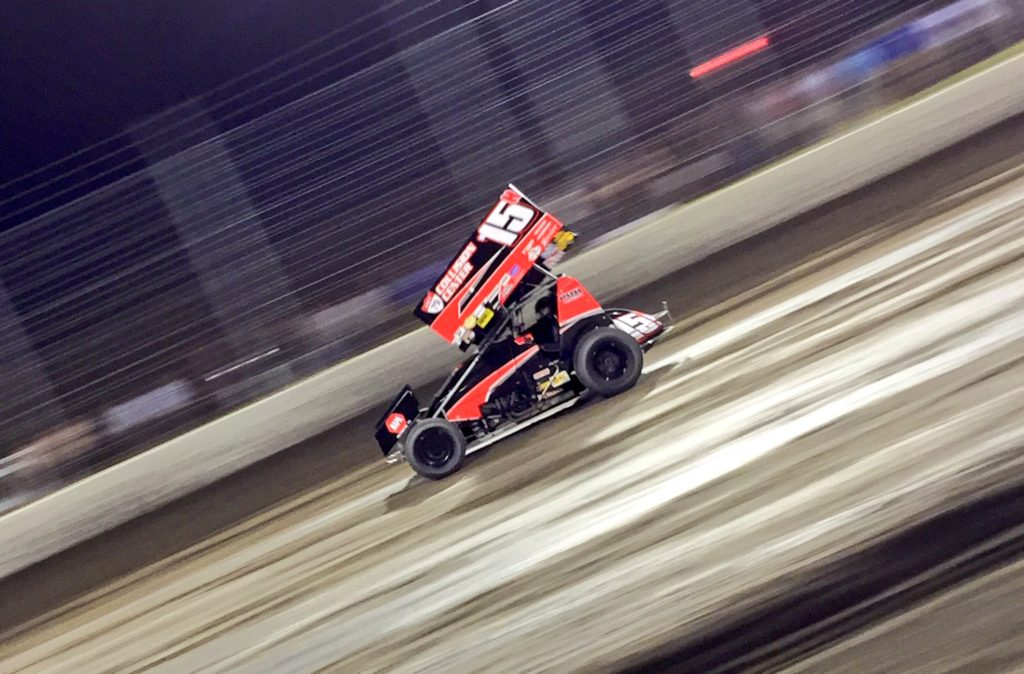 Sam Hafertepe Jr takes home Sprint Car trophy