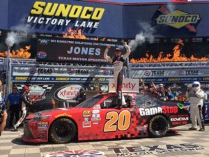 Erik Jones wins at Texas Motor Speedway Saturday April 8